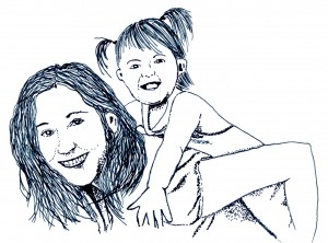 dessin Laetitia